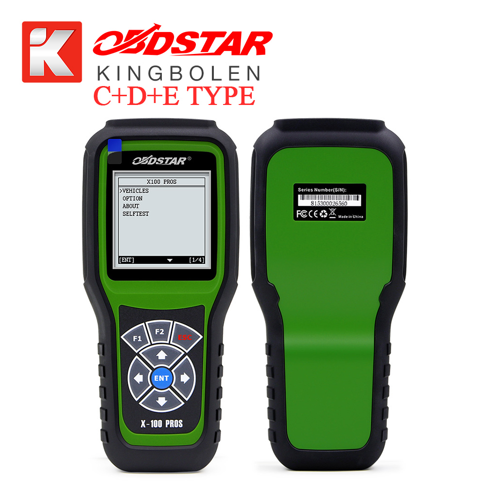 Original OBDSTAR X100 PROS C + D +E model Key Programmer with EEPROM adapter IMMO+Odometer+OBD+EEPROM Replace X-100 Pro