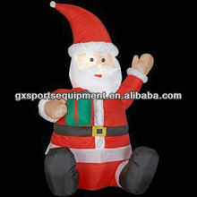 6ft/183cm inflatable Christmas cartoon for promotions activity