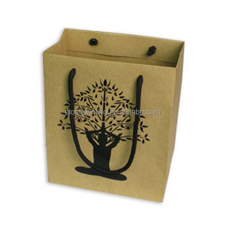 Top fashion trendy style custom high-end fancy paper bag
