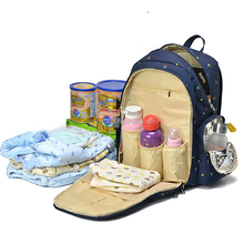 2017 wholesale diaper bag backpack baby nappy bag for mother carry