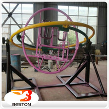 Hot kids outdoor play ground games human gyroscope price with trailer sale