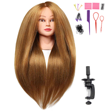 Buy One Get One Free Human Hairdressing Training Heads Practice Mannequin Head