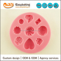 Dessert cake decorating chocolate silicone molds