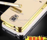 Aluminum Chrome Mirror Hybrid Case for Samsung Galaxy S6 G9200/S6 edge/S6 edge Plus/S6/S5/S4/S3