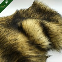 Wholesale Racoon Fake fur 100% Acrylic Imitation Animal Fabric