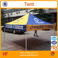 3X3M economic strong aluminium folding tent marquee with printing