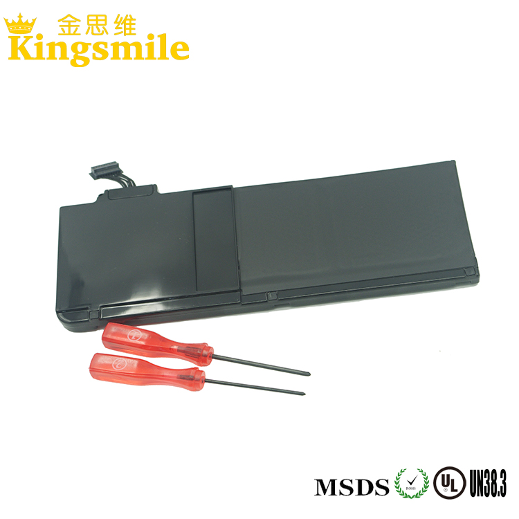 Li-polymer Type and 10.95V Nominal Voltage rechargeable laptop battery for Apple Macbook A1322