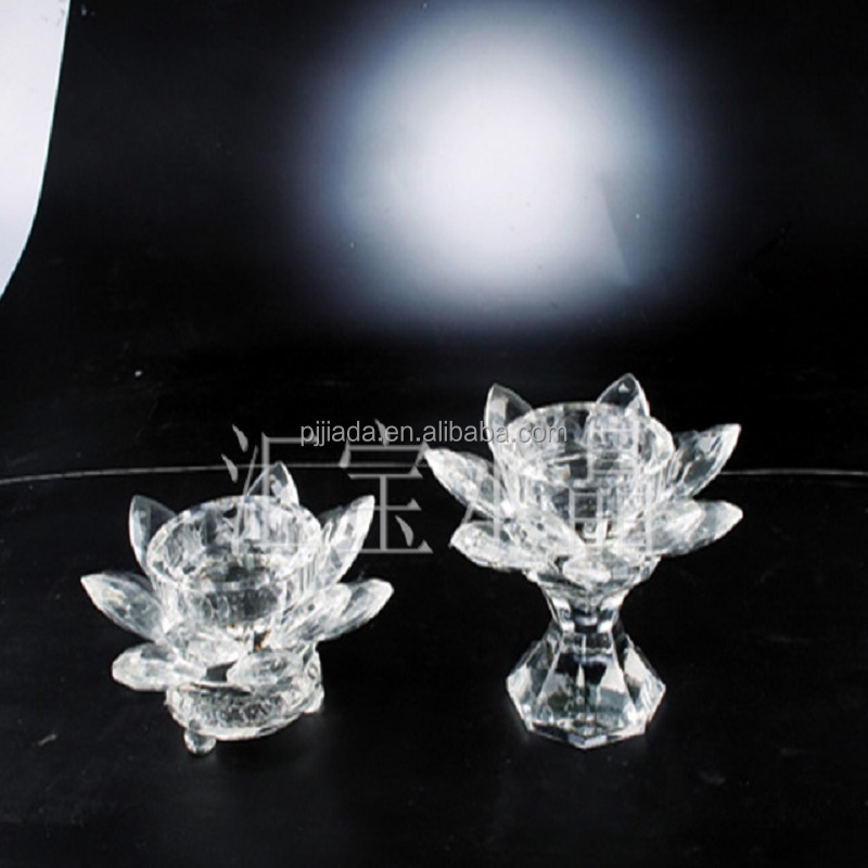 Glass Crystal Candle Holder wedding candelabra glass candle jars crystal candelabra Home Decor