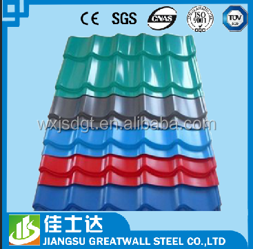 ppgi coils /corrugated metal roofing sheets/roof tiles