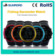 SUNROAD new arrivals fishing barometer watch fishing gear and accessories 5 color