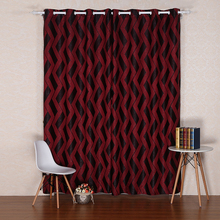 new custom window jacquard chinese style silk curtains