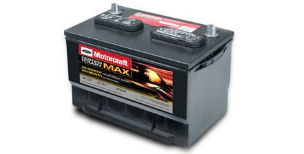 Motorcraft Tested Tough Max Car Battery
