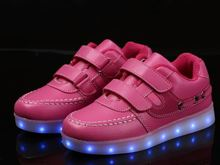 High quality led leisure shoes for children