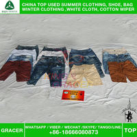 Wholesale Brand Name Bales Men Short Pants used clothing in los angeles