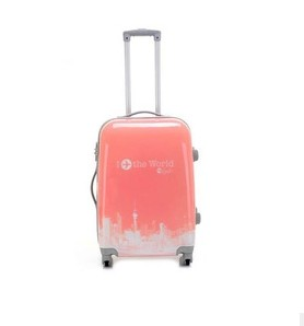 ABS trolley hard case luggage from Baigou Market