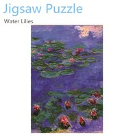 1000 pieces jigsaw puzzle game - famous drawings