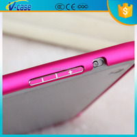 Light weight Aluminum bumper tablet back cover for ipad mini 2