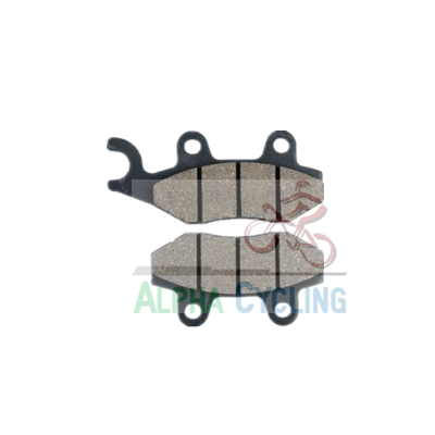 wholesale motorcycle disc brake pads AC008 for TS-125; WY150; THUNDER; KYMCO;SPIN; KAWASAKI- KLX 125 AC008