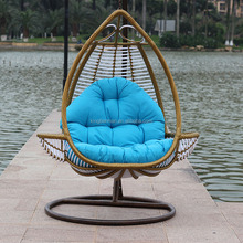 Latest Design Leisure Outdoor Swing Chairs for Adult Balcony Hanging Swing Chairs Garden Brand Furniture