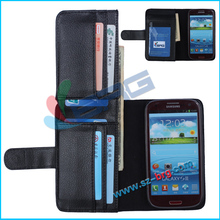 BRG- EXW price Mulit function wallet leather case for s3,flip cover for samsung galaxy s3