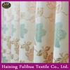 Excellent quality middle-east market room curtains valances European jacquard Woven curtain fabric