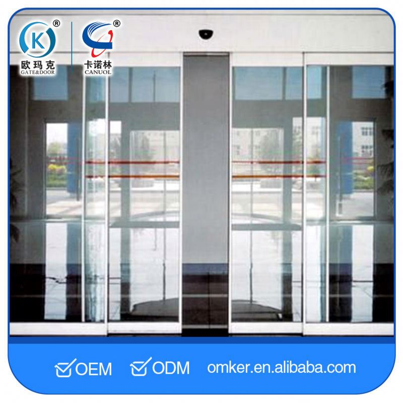 Double-Door Interlock Function Automatic Theater Doors