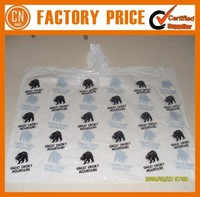 Customized Logo OEM Designed Clear Raincoat