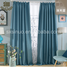 Factory Direct Ready Made Cheap blackout curtain drape