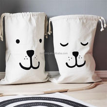 Ins explosion, cotton cloth bag, oversized bundle pocket Home sundries canvas storage bags