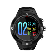 Fitness Tracker Smartwatch F18 GPS Heart Rate Monitor Waterproof Sport Smart Watch for IOS Android With Blood Pressure