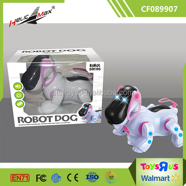 Promotion Cheap Electric Robot Dog with Music and Light