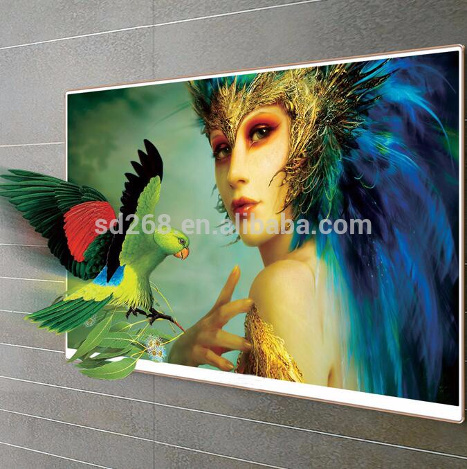 China Wholesale 32 36 42 inch Flat Screen Television Stand LED Smart Android TV With 3D VGA Function