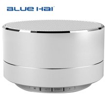 Round Promotional Wireless Plastic Bluetooth 3W A2DP Function Portable Mini Speaker