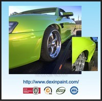 1k pearl green color paint for cars