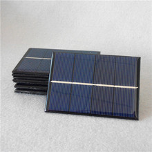 Customized solar panel 1W 2V 70*100mm applied for mini solar systems