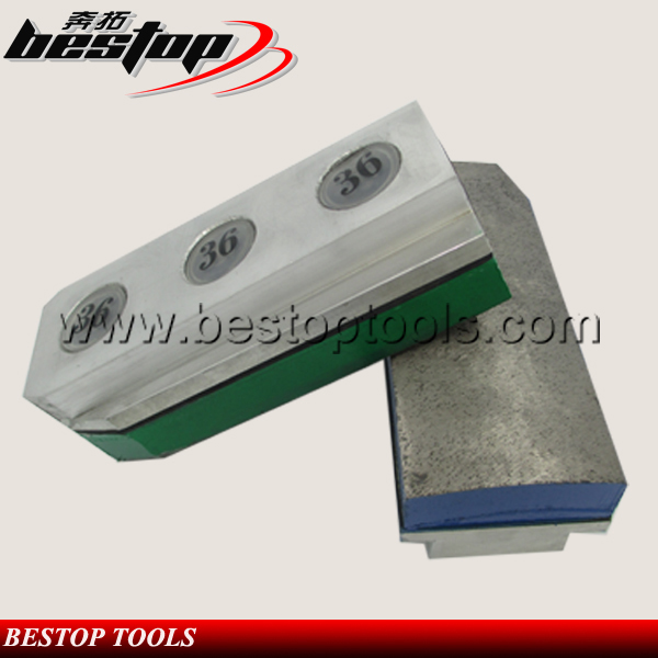 Douable In Use Metal Bond Diamond Fickert For Stone Grinding