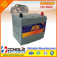 ORIENT Battery Factory Supply 12V Optima Car Battery with full Specifications