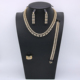 Choker Necklace Gold Jewellery Dubai Luxury Mix-color Gold Plated Jewelry As Wedding Gifts