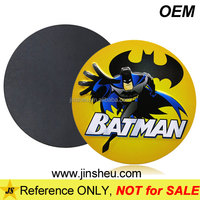 Manufacturer Cheap Custom Made Batman Rubber Magnet Refrigerator Sticker
