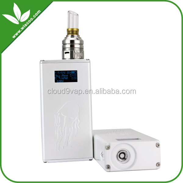Lotus grand original jellyfish 510 atomizer connector vv vw box mod