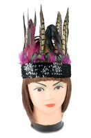 Fashion Feather Headdress for Party