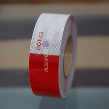High reflectivity dot-c2 vehicle reflective tape