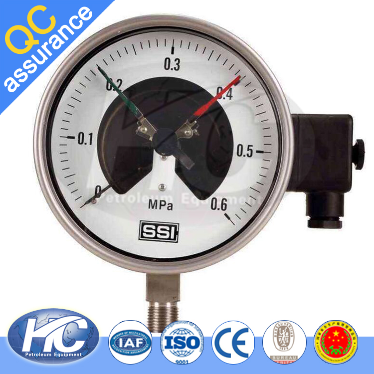 Bourdon tube pressure gauge / instrument used for measuring pressure