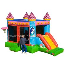 Attractive design inflatable jumping castle with water slide Z2010