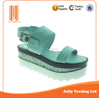 Best selling customer OEM and ODM girls shoes low heel sandals