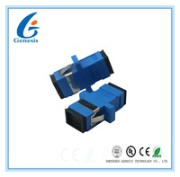 Factory wholesale SC simplex fiber optical adapter,SC-SC large return loss fiber optic adapter