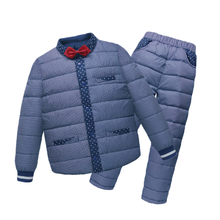 PHB60289 2016 winter new design boy kids outfits snow suit