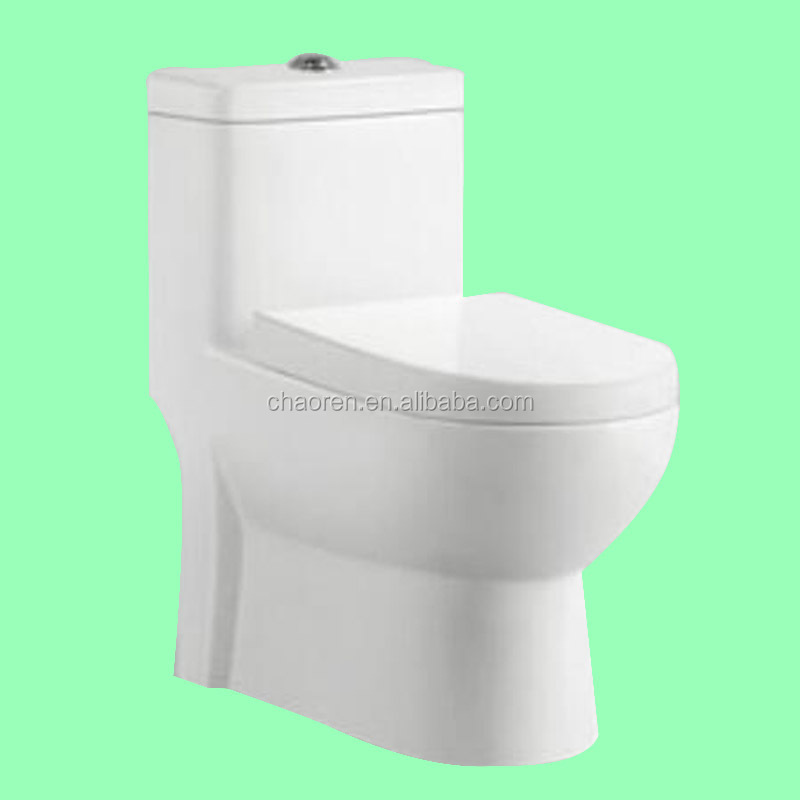 Ceramic siphonic one piece wc S trap cheap toilets for sale
