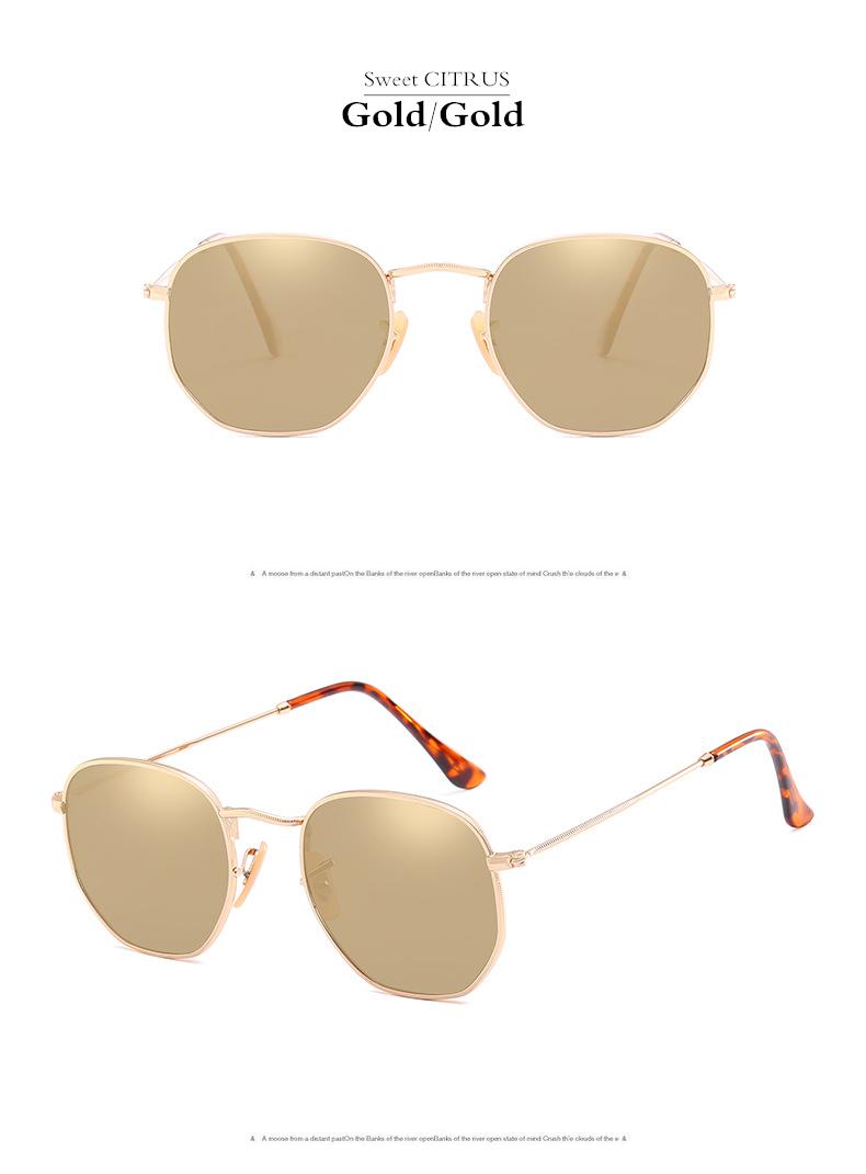HTB1g1lugJrJ8KJjSspaq6xuKpXab - Sweet CITRUS Hexagonal Aviation Coating Mirror Flat Lens Sunglasses Men Brand Designer Vintage Pink Driving Sun Glasses Women
