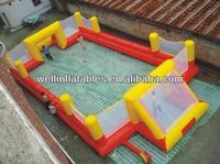 hot sale inflatable football pitch / inflatable football field for sale